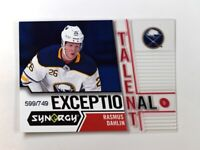 2018-19 18-19 UD Upper Deck Synergy Exceptional Talent #ET-1 Rasmus Dahlin /749