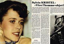 Coupure de Presse Clipping 1979 (3 pages) Sylvia Kristel