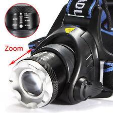 6000LM 3Mode LED Headlamp Headlight Flashlight Focus Zoom Head Light Lamp 18650
