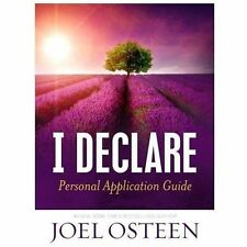 I Declare Personal Application Guide by Joel Osteen (2013, Hardcover)