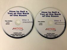 Public Speakers -Increase Product Sales -CD- Tom Antion