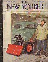 1951 New Yorker Jan 20-Anxious to use the new snow plow
