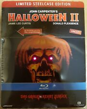 Halloween 2 , extreme rare Steelcase with Light- and Soundeffects , 100% uncut