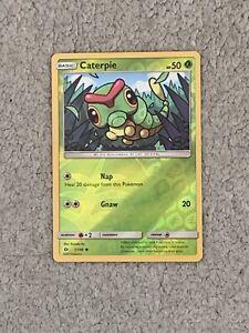 Pokemon Trading Cards Sun & Moon Set Caterpie (Holo)