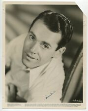 Henry Fonda Signed 1930 Very Young Portrait Photo Vitagraph Pictuires J1842