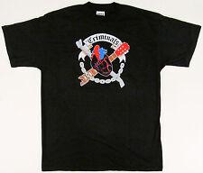 The CRIMINALS HEART T-shirt Punk Rock Concert Tee Adult XL Black 100% Cotton New