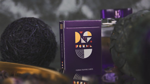BRAND NEW CARDS - Purple FORMA Playing Cards by TCC and Alejandro Urrutia