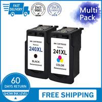 PG-240XL & CL-241XL Ink For Canon Pixma MX472 MX479 MG2220 MG3220 MG3520 TS5120