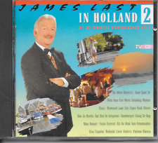 JAMES LAST - In Holland 2 CD Album 12TR POLYDOR 1990 Dutch Release