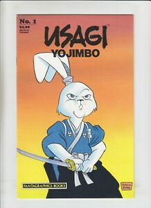 Usagi Yojimbo (Vol. 1) #1 VF; Fantagraphics  1st print & appearance of Katsuichi