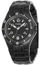 Fossil AM4051 Black Dial Black Ion Plated Stainless Steel Men's Watch