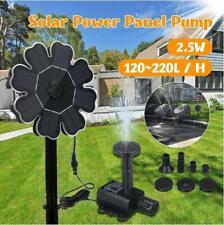 Solar Water Pump Floating Panel Pool Fountain Garden Landscape Pond Watering Kit