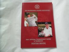 2001 PGA Official Tournament Guide and Yearbook , Scottish Region