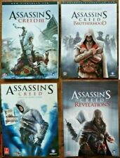 Assassin's Creed STRATEGY GAME GUIDES: I + III + Brotherhood + Revelations