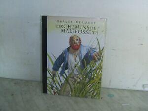 Tirage de Luxe LES CHEMINS DE MALEFOSSE 11 Dermaut Bardet 500ex + ex-libris neuf