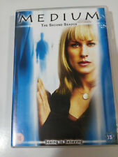MEDIUM THE COMPLETE SECOND TEMPORADA 2 SEASON - 6 X DVD ESPAÑOL ENGLISH &