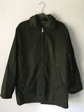 VTG Gregory's Parka Flight Army Green Coat Jacket Bomber Removable Hood Mens 40