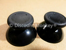 2 Black Analogue Replacement Thumb sticks Analog stick for Xbox 360 Controllers