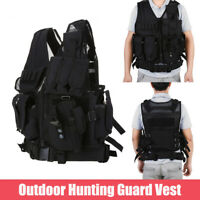 Swat Battle Military Waistcoat Combat Assault Plate Carrier Tactical Guard Vest