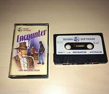 Incontro-Severn software-CASSETTA-ZX Spectrum - 1983-TESTATO-in buonissima condizione/RARO