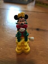 1993 Burger King Disney Surprise Celebration Minnie Wind Up Car Toy
