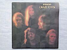 Poco Crazy Eyes Epic PE-32354 Reissued w/ Dark Blue Labels 2-A/1-K Pressing NM-