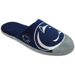 FOCO Penn State Nittany Lions Mens Stripe Slippers