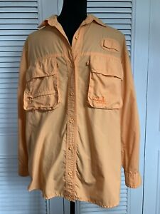 Cabela Guidewear Unisex Fishing, Hunting Shirt Vented With UV Protection Size S