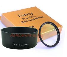 JJC LH-68 Lens Hood as ES-68 & 49mm MRC Nano UV Filter 4 CANON EF 50mm f1.8 STM