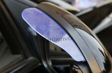 2Pcs Transparent Car Side Mirror Sun Visor Rain Board Flashing Rubber Guard