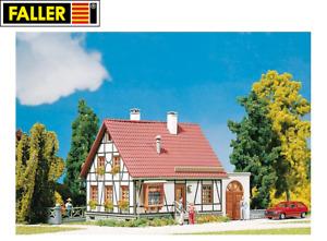 Faller N 232215 Fachwerkhaus mit Garage - NEU + OVP