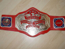 NWA Television Championship Belt NWA WWE WCW ECW  Arn Anderson Tully Blanchard