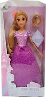 Official Disney Store Rapunzel Classic Doll Tangled With Pendant Poseable Figure