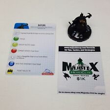 Heroclix Crisis set Batgirl (Cassandra Cain) #014 Common figure w/card!