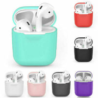 Bluetooth Wireless Earphones Headphones Earbuds Box Case Cover For Apple iPhone