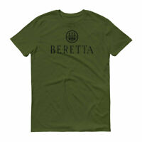 Beretta Black Logo T Shirt 2nd Amendment Pro Gun Rights Tee Rifle Pistol New