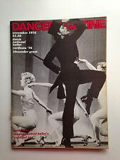 DANCE MAGAZINE NOVEMBER  1976 DUTCH NAT'L BALLET  CARIFESTA '76  ALEX. GRANT