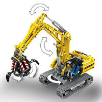 Excavator Car Compatible With Legoing Technic 720Pcs Truck Model Building Blocks