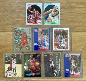 Last Dance Era 1990s Basketball Card 9 Lot: Michael Jordan, Dennis Rodman, etc.