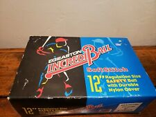 Lot of 6 softballs 12 inch Incrediball Soft Compression Training Used Once