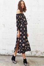 Rayon Midi Geometric Dresses for Women