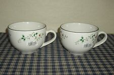 Pfaltzgraff Winterberry Super Soup Mugs set of 2 NEW with Sticker    Older Style