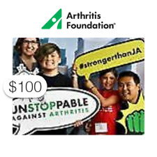 $100 Charitable Donation For: Arthritis Research