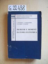 AUTORI VARI - PROBLEMI E MOMENTI DI STORIA ECONOMICA - BULZONI EDITORE - 1973