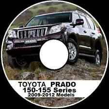 TOYOTA PRADO 150 155 SERIES 2009-2010-2011-2012 GRJ TRJ KDJ Workshop Manual CD