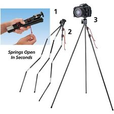 Tamrac TR404 ZipShot Portable & Lightweight Mini Tripod - Snaps Open in Seconds