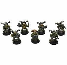 Death Guard 7 Plague marines Metal #3 Well Painted Chaos Space Nurgle