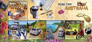 Australia SC#3766a (2012) - Road Trips - Souvenir Sheet