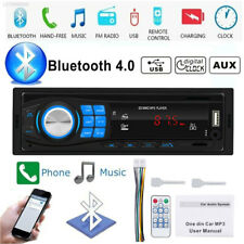 Bluetooth FM Car Stereo Audio In-Dash Aux Input Receiver SD USB MP3 Radio Player