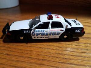1/43 Road Champs Police Dallas Police(K9 Unit). Texas